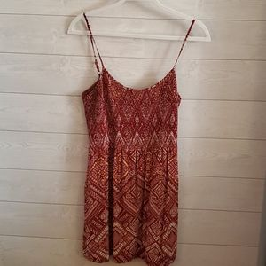 Forever 21 Patterned Babydoll Top Size XL
